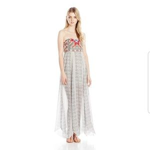 Ripcurl Juniors Mi Amor Embroidered Maxi Dress XS
